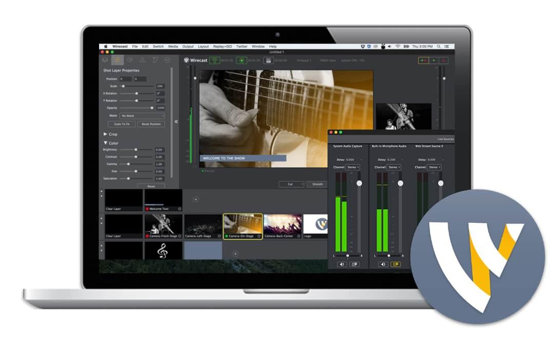 Telestream Wirecast Pro 8.1.0