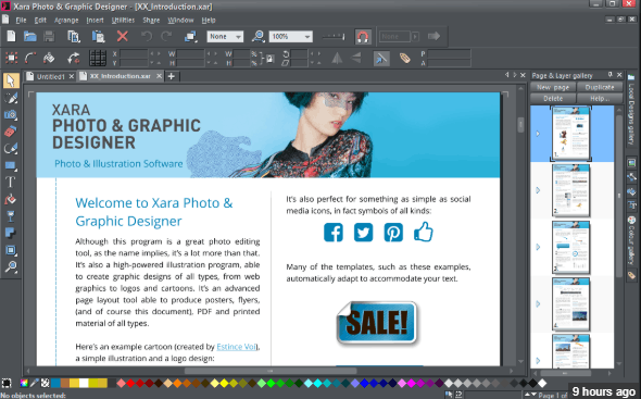 Xara Photo & Graphic Designer 16 crack download