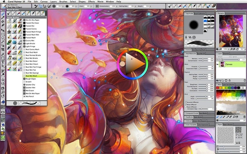 Corel Painter 2019 19.0.0.427 Free Download For Mac