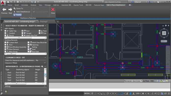 Autodesk AutoCAD MEP 2018 Free Download