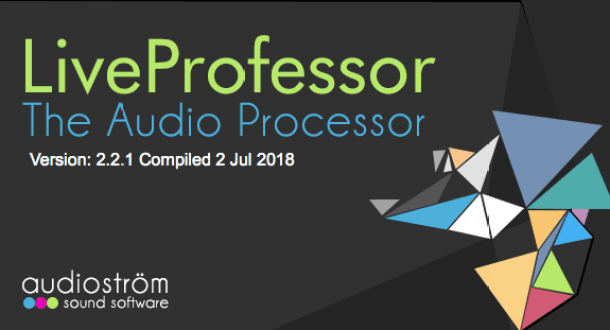 Audiostrom Liveprofessor v2.2.1 Free Download For Mac OS X