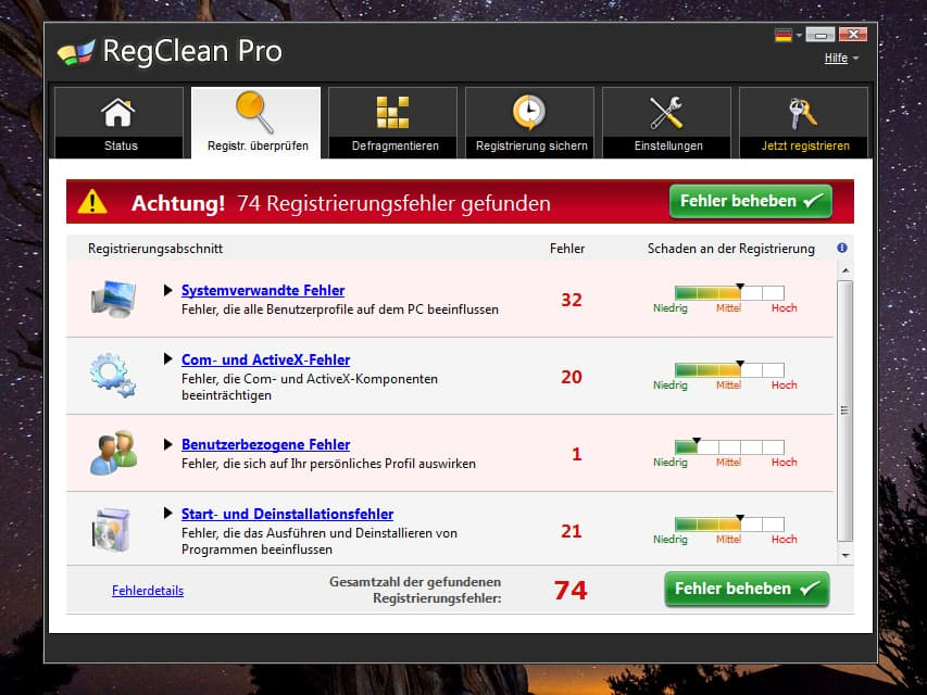 SysTweak Regclean Pro 8.3.81.1103 Free Download