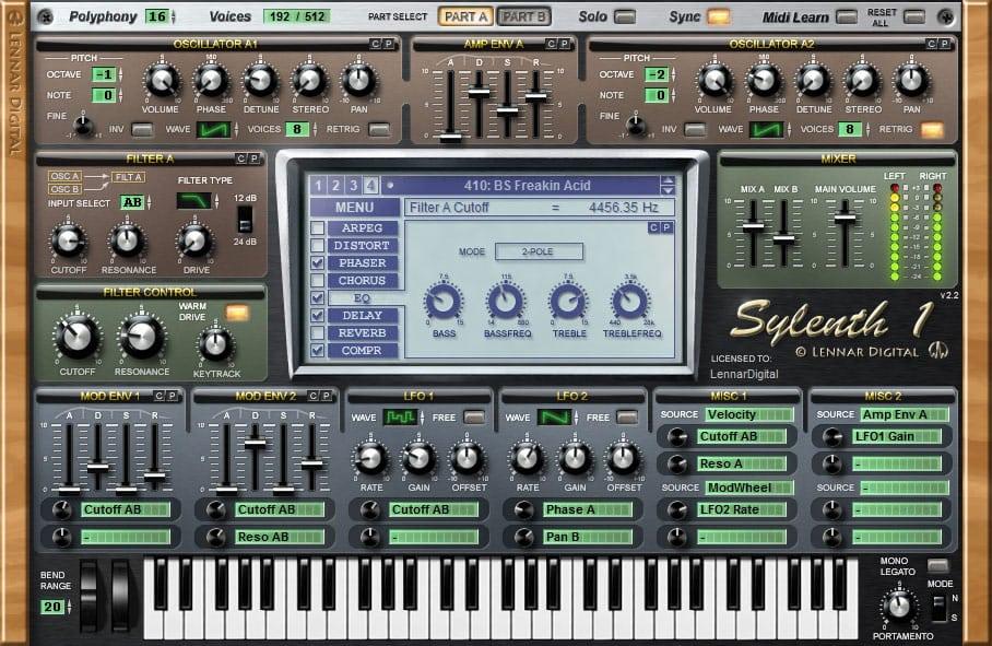 Lennar Digital Sylenth1 v2.21 Free Download For Mac OSX