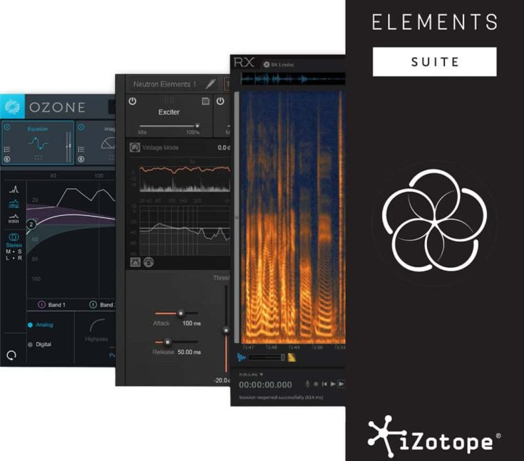 iZotope Elements Suite 2.00 Free Download For Mac OSX