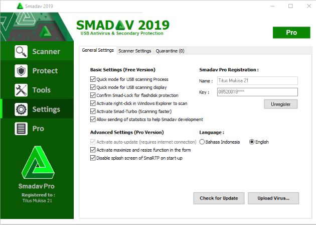 Smadav Antivirus Pro 2019 crack