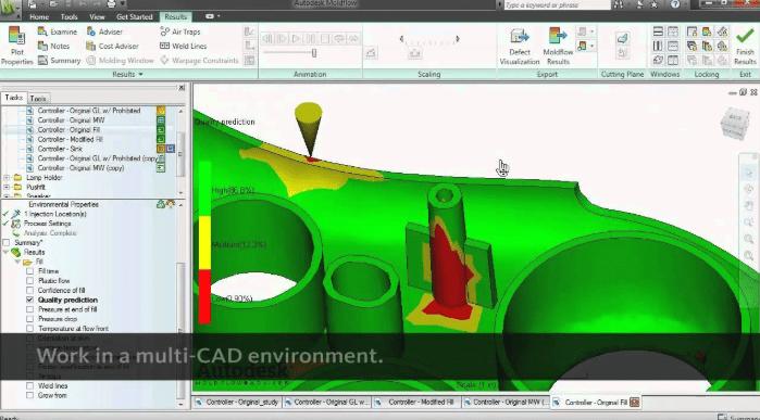 Autodesk Moldflow Advisor 2019