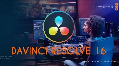 Blackmagic DaVinci Resolve Studio 16 crack