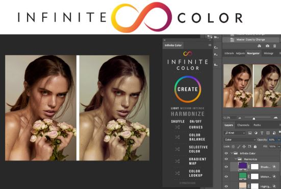 Infinite Color Panel Plug-in for Photoshop crack
