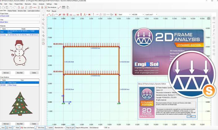 Engissol 2D Frame Analysis 4
