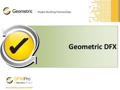Geometric DFMPro free download