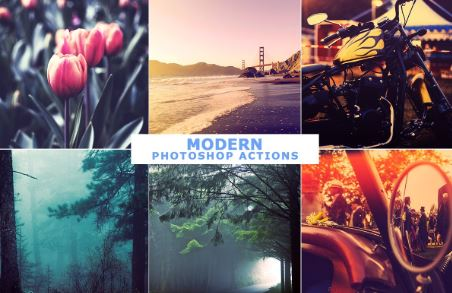 40 Modern Photoshop Actions 1 Free Download