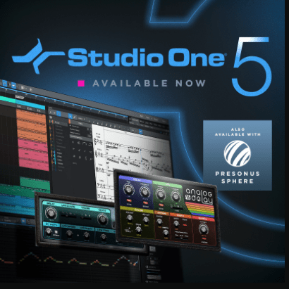 PreSonus Studio One Professional v5