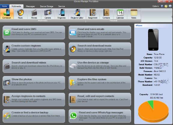 iDevice Manager Pro Edition 10