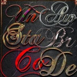 GraphicRiver 10 3D Text Styles Dark Free Download