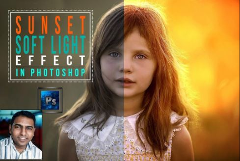 How to Create Sunset Soft Light Effect in Adobe Photoshop