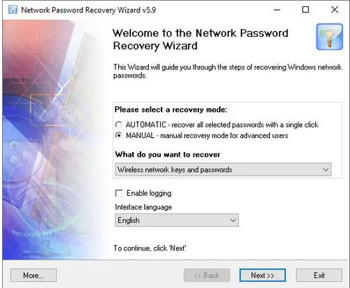 Passcape Network Password Recovery Wizard 5