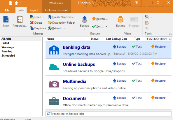 FBackup 2020 Free Download