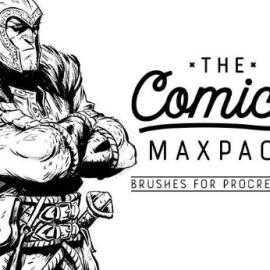 The Comics MaxPack – Brushes for Procreate Free Download (Premium)