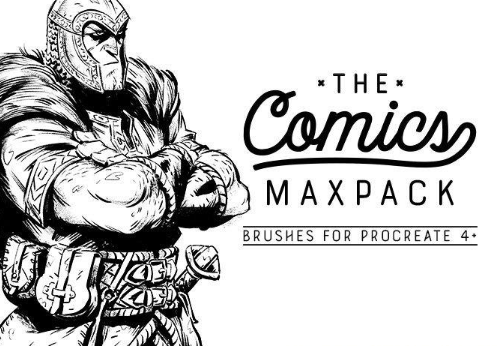 The Comics MaxPack – Brushes for Procreate