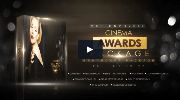 Videohive Cinema Awards Package Premiere PRO