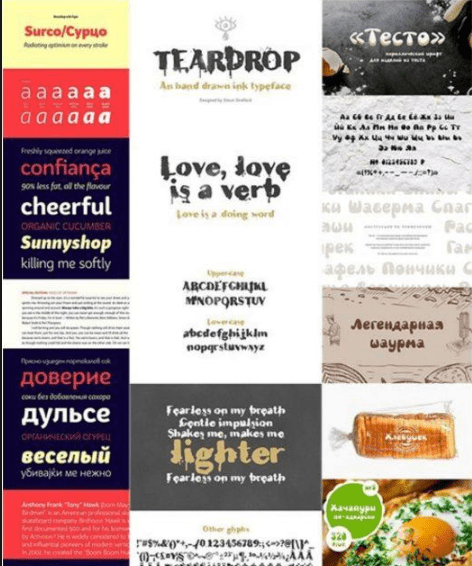 Mix Fonts Bundle 59 Free Download