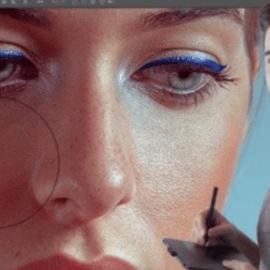 Retouching Beauty Portrait with Photoshop (premium)