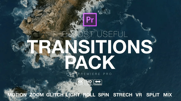 Videohive The Most Useful Transitions Pack for Premiere Pro