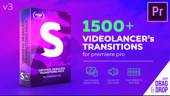Videolancer's Transitions for Premiere Pro Original Seamless Transitions