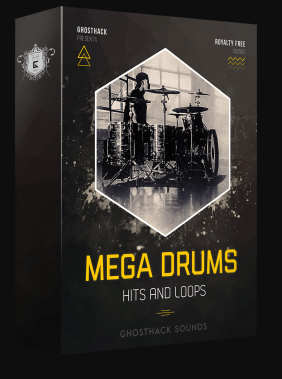 Ghosthack Sounds Mega Drums (Hits And Loops) WAV