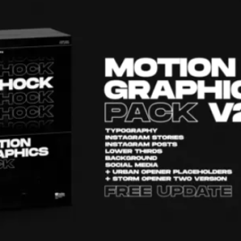 Videohive Shock Motion Graphics Pack V2 24181222 Free Download