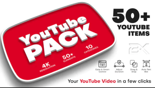 Videohive YouTube Pack 27539966 Free Download