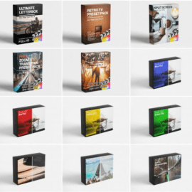 FCPX FULL ACCESS Ultimate Bundle (Includes ALL FCPX Plugins, LUTS) (premium)