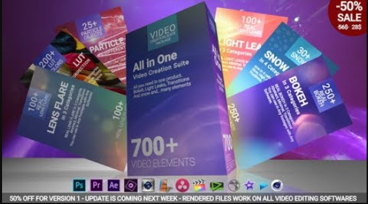700 Video Creation Suite V2 Transition 22974586 Videohive Free Download