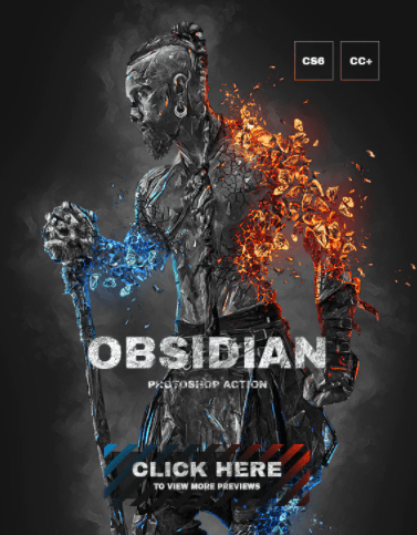 GraphicRiver – Obsidian Photoshop Action 26998428