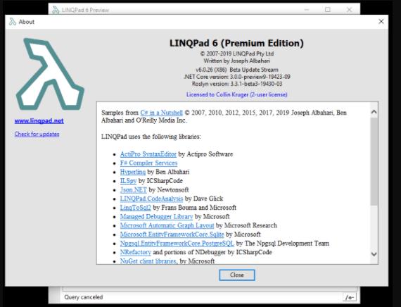 LINQPad Premium 6.11.11 Free Download
