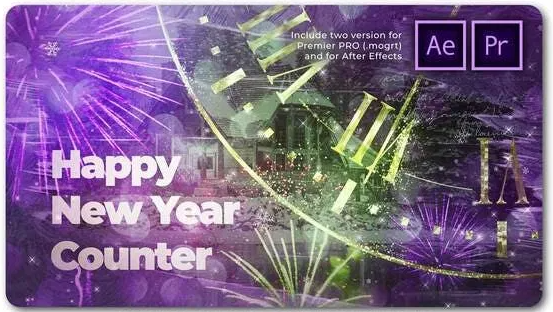 Videohive Magical Countdown New Year Slideshow 29479121