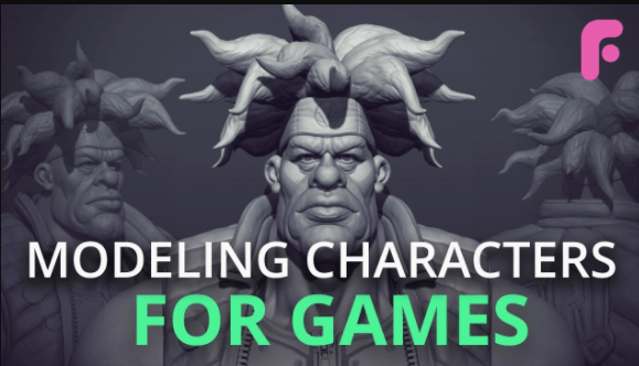 Modeling Characters for Games by FlippedNormals