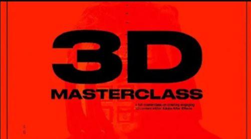 3D Masterclass By Spencer Miller