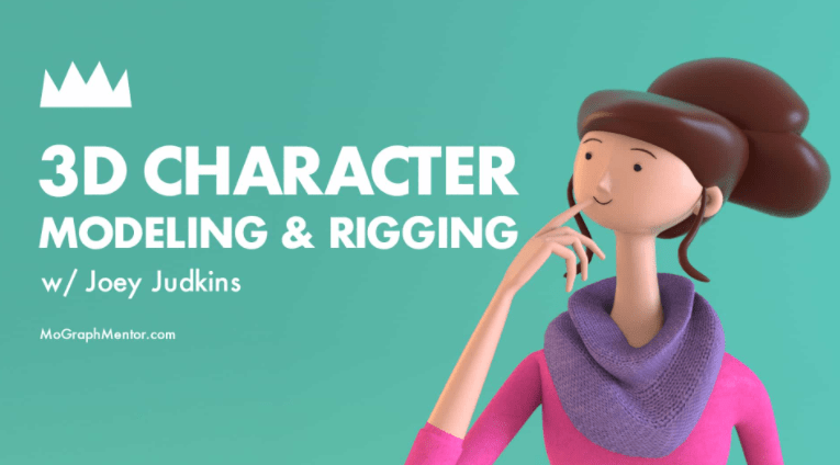 3D Character Modeling & Rigging With JOEY JUDKINS