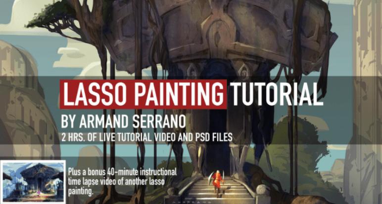 Lasso Painting Tutorial by Armand Serrano
