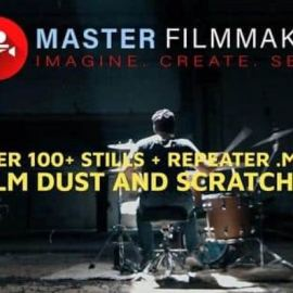 Master Filmmaker – Film Dust And Scratches Texture Pro Pack MOV 4K