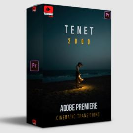 Paramount Motion TENET Adobe Premiere Transitions Free Download