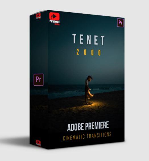 Paramount Motion TENET Adobe Premiere Transitions
