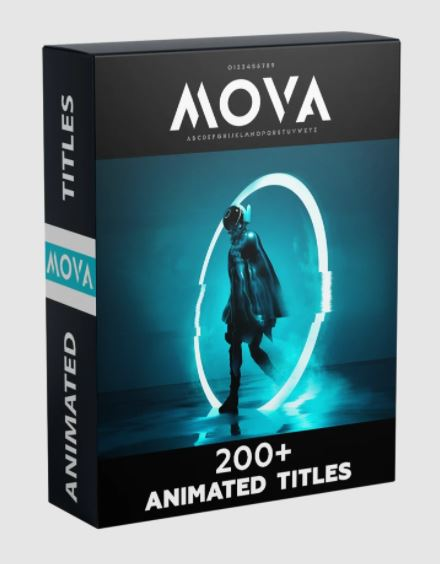 Video Presets Mova 200+ animated titles pack