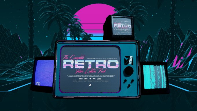 James Abadi - The Complete Retro Video Editors Pack