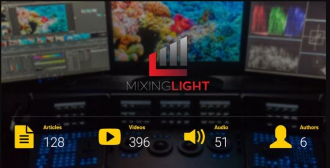 MIXING LIGHT Color Grading Tutorial Library