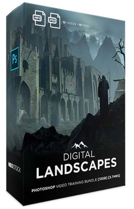 Neo Stock Diigital Landscapes Photoshop Video Training [BUNDLE]