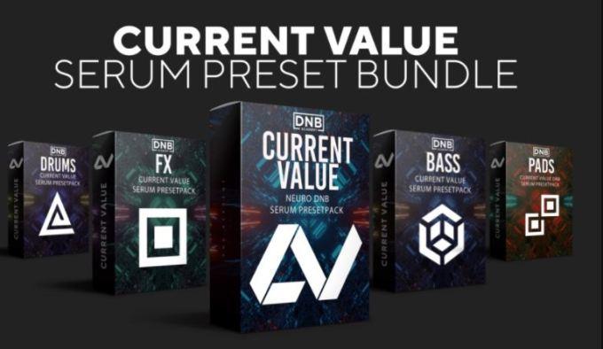 Dnb Academy Current Value Serum Preset Bundle