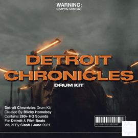 Blicky Homeboy Detroit Chronicles Drumkit [WAV, Synth Presets] (Primium)