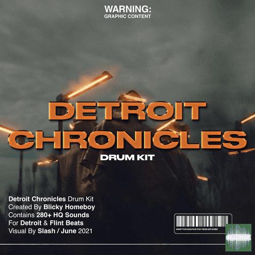 Blicky Homeboy Detroit Chronicles Drumkit